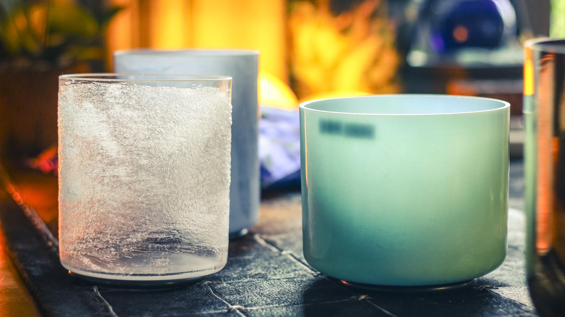 Bol de cristal chantant : des sons cristallins pour se détendre et s'éveiller