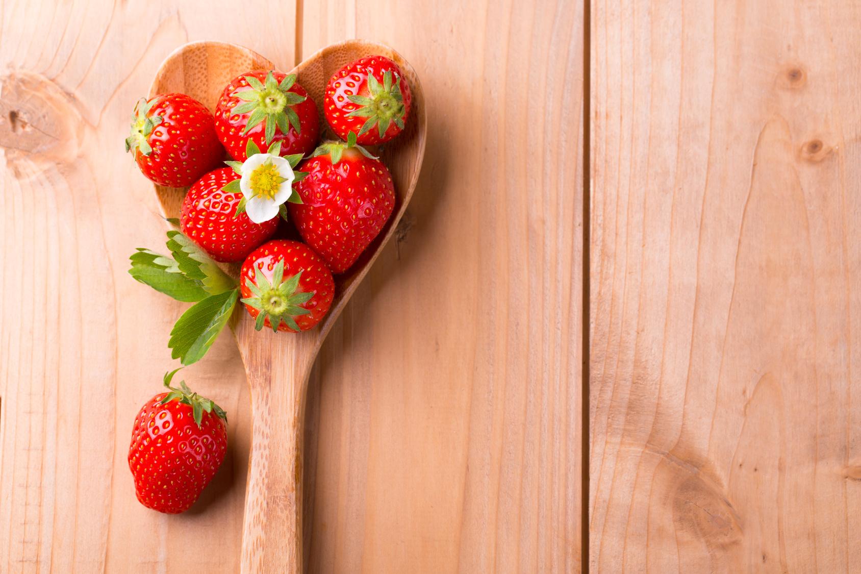 Recettes à base de fraises bio !