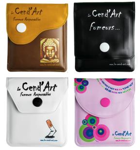 Cendriers de poche cend'art