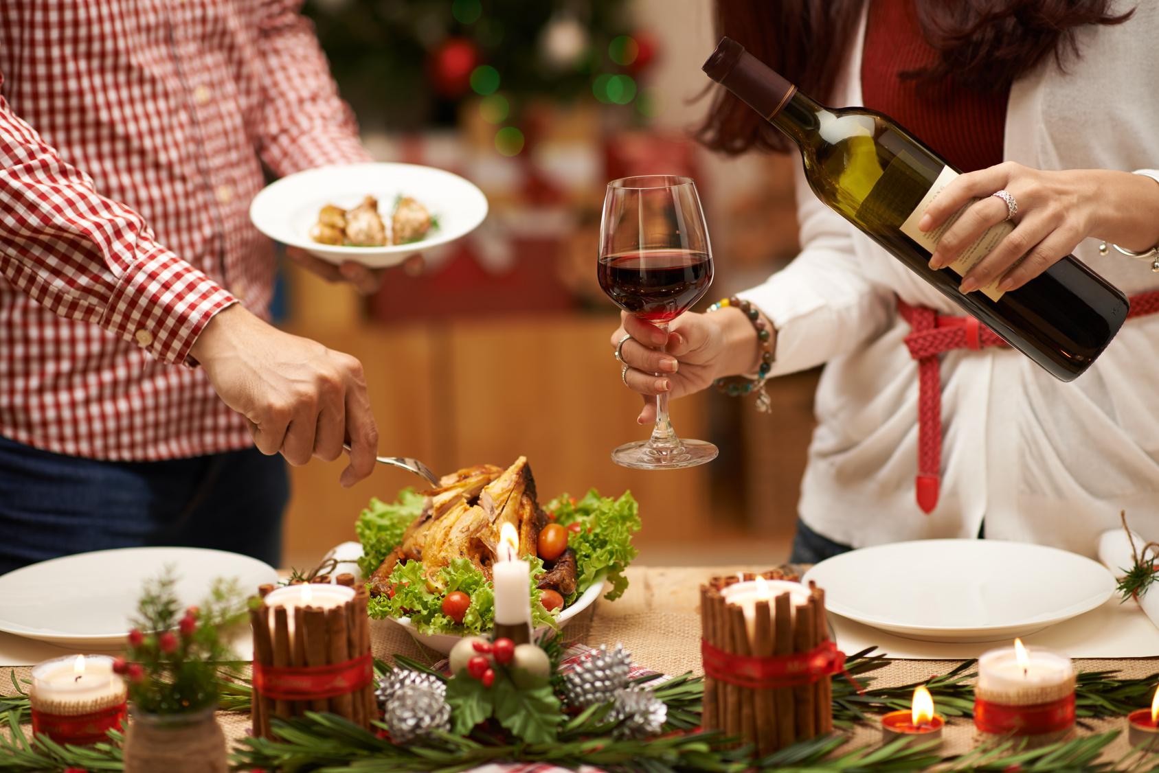 Mets et vins bio pour les fêtes