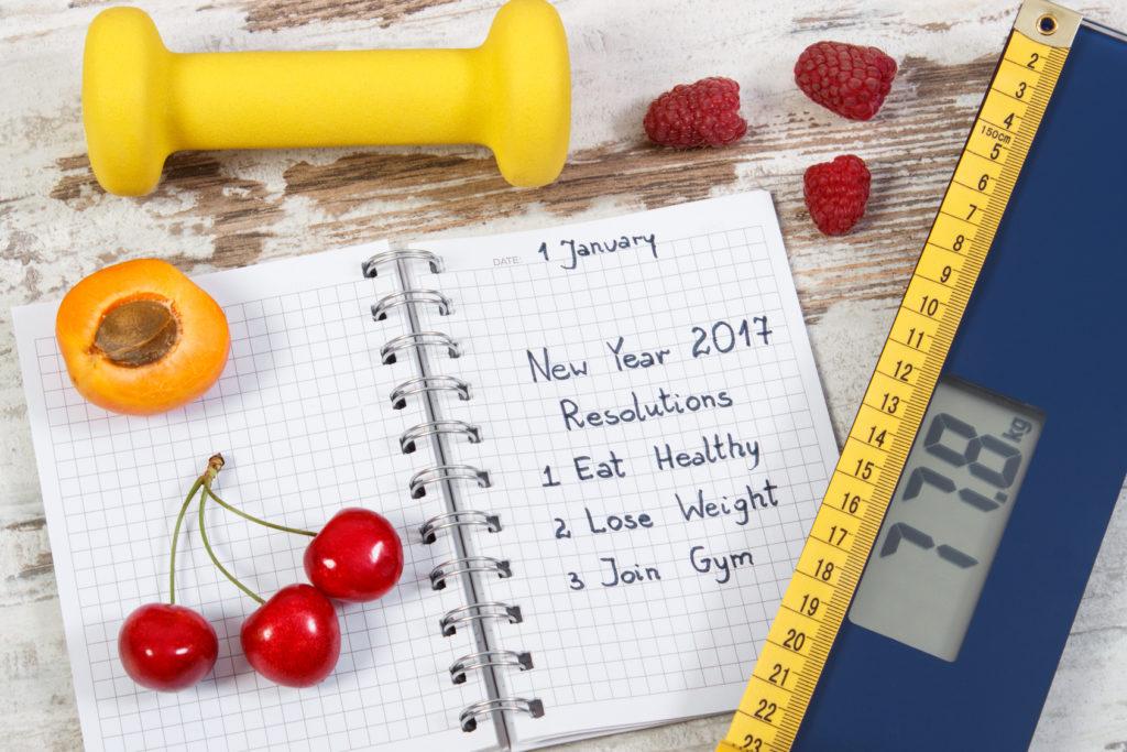 Boones résolutions bien-être et santé