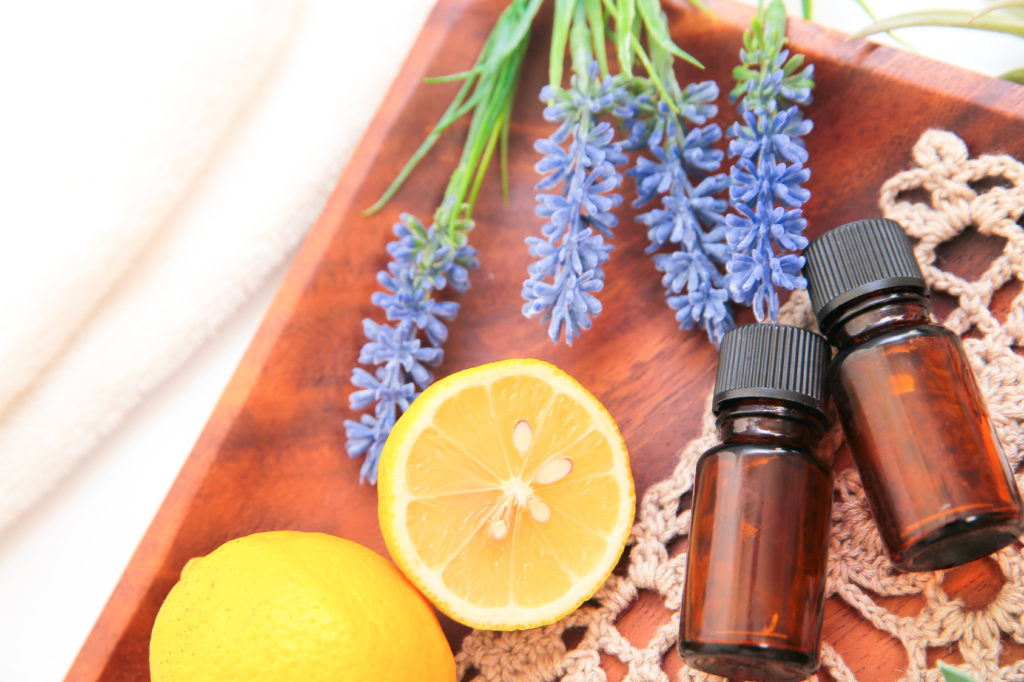Aromathérapie, huiles essentiells bio