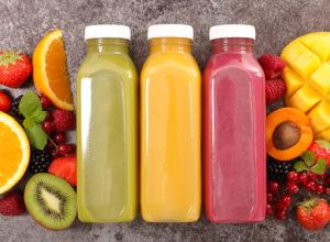 Jus de fruits bio