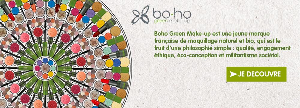 [FOCUS SUR …] Boho Green Make-up