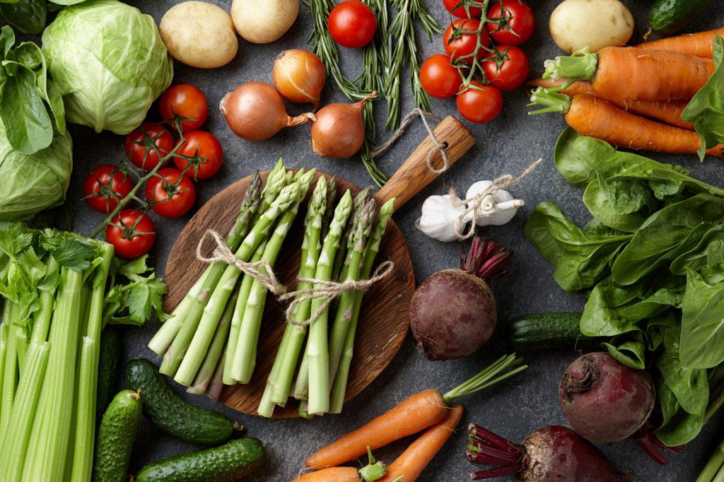 Légumes de saison printemps