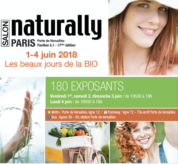 17ème édition du salon Naturally : préparez un été tout bio !