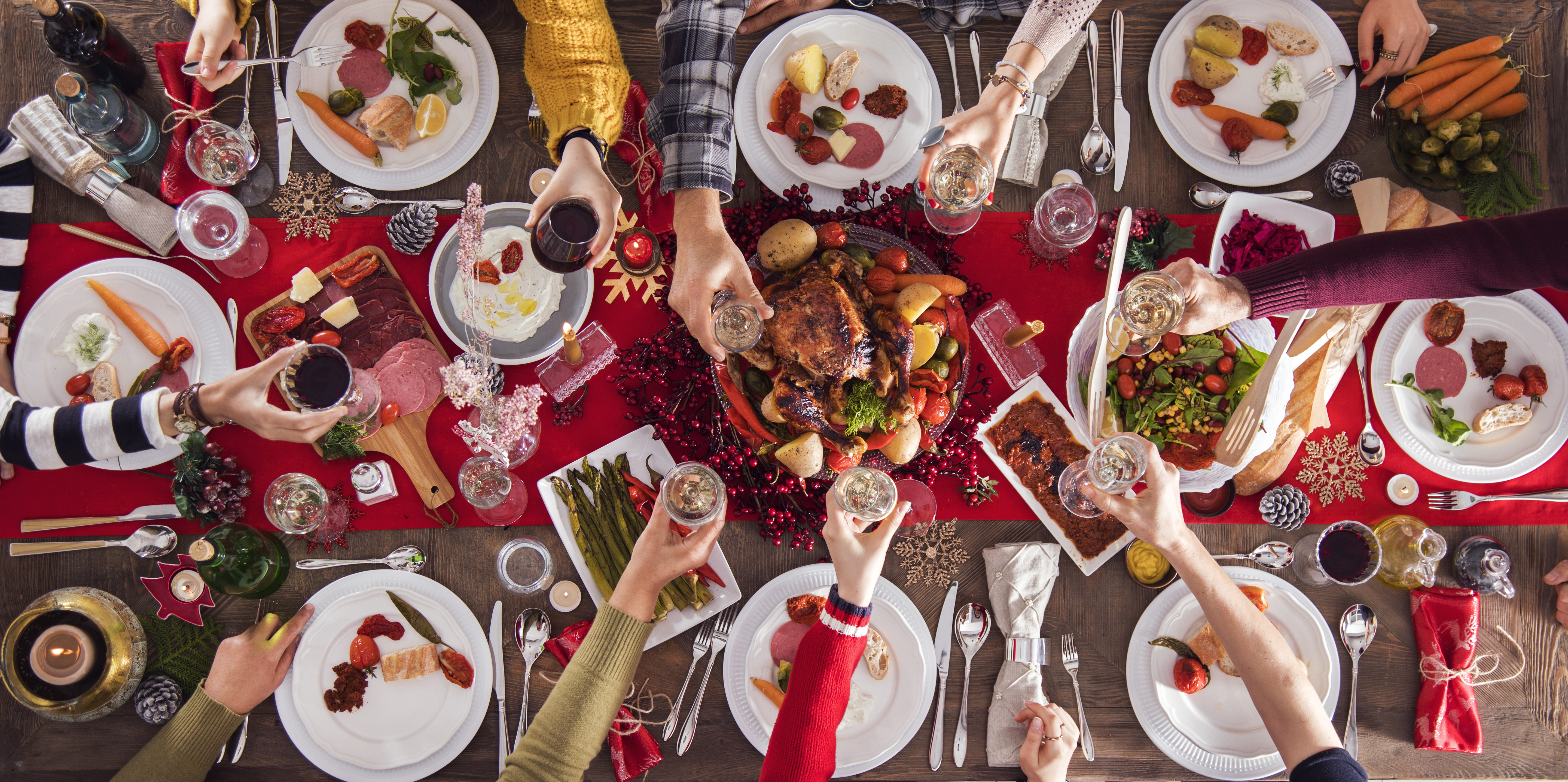 Une belle table à Noël!