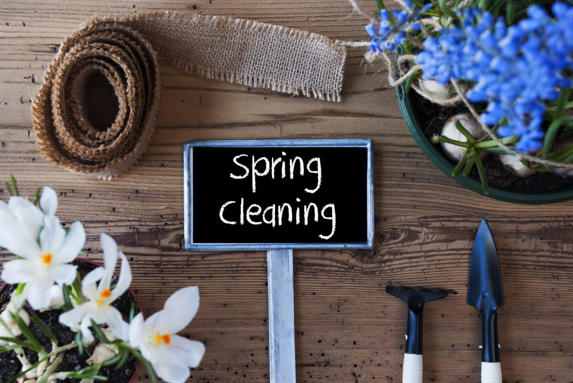 Le grand ménage de printemps