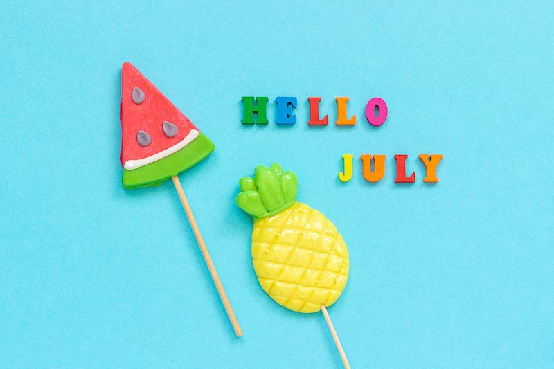 Les essentiels de juillet