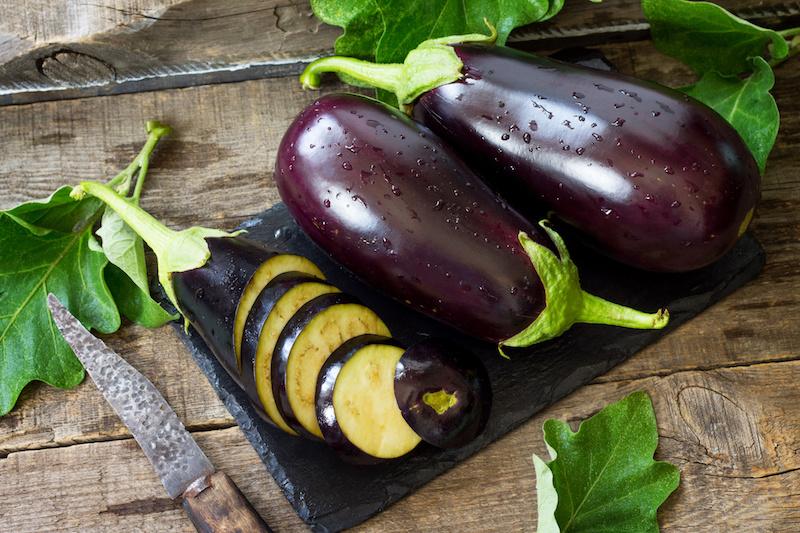 L'aubergine, un légume plein de surprises !